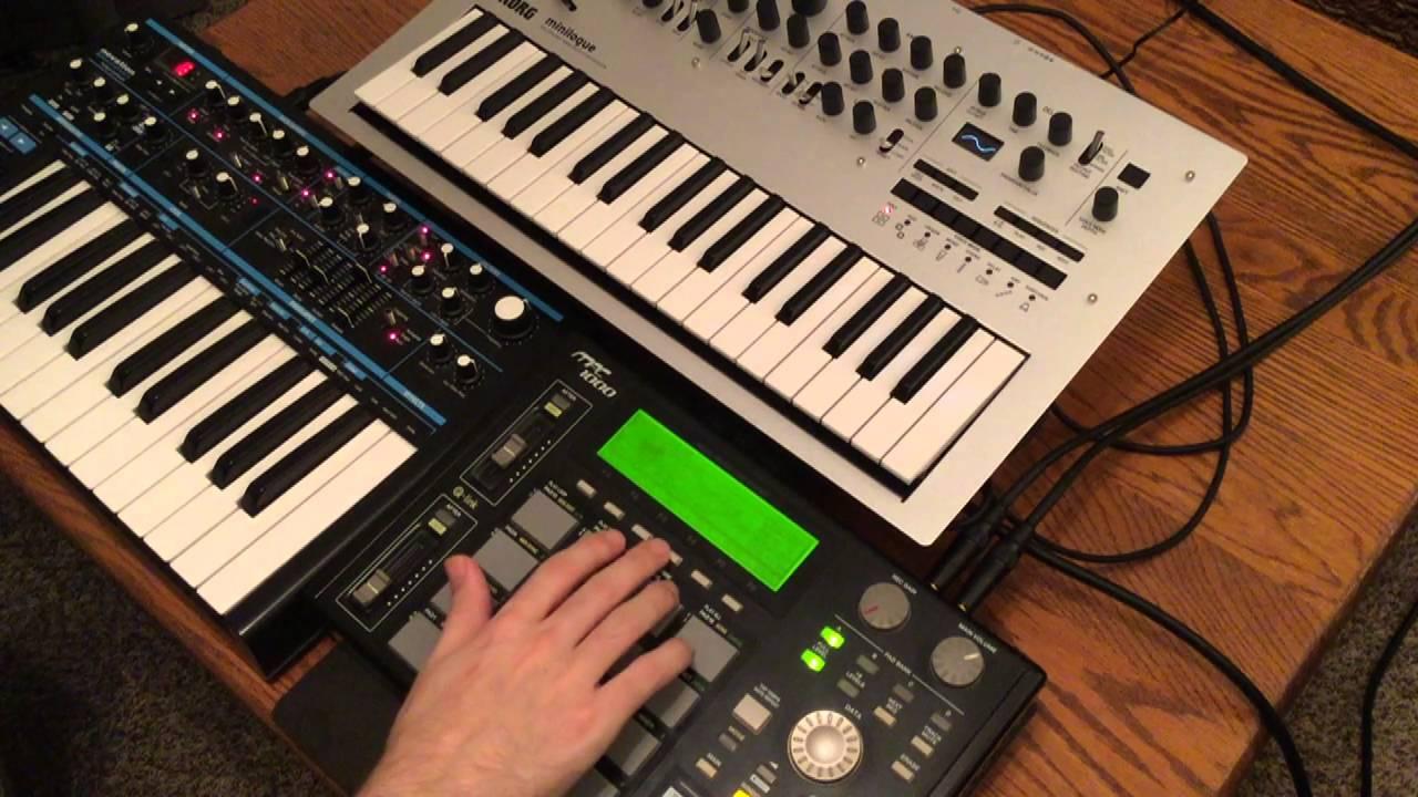 Midiverse tv: akai mpc 1000 tutorial part 6 sampling vinyl.