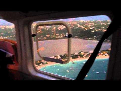 SXM Anguilla flight