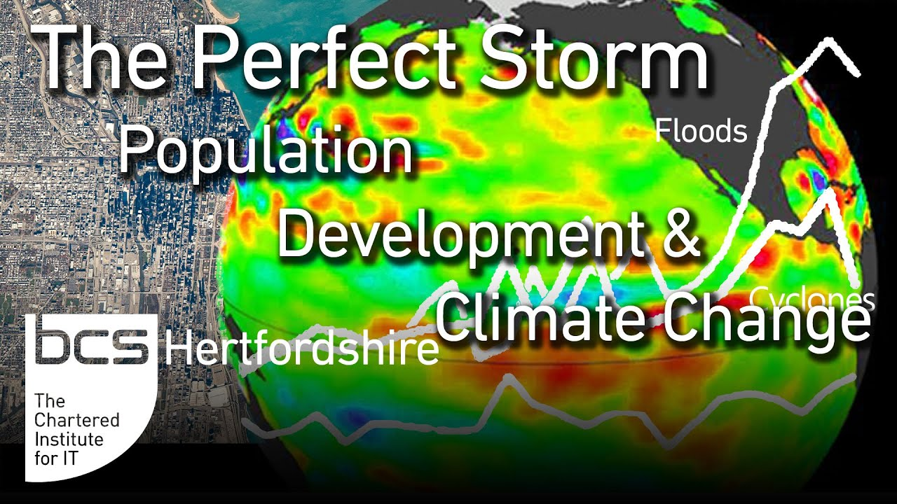 The Perfect Storm: Population, Development & Climate Change Graphic