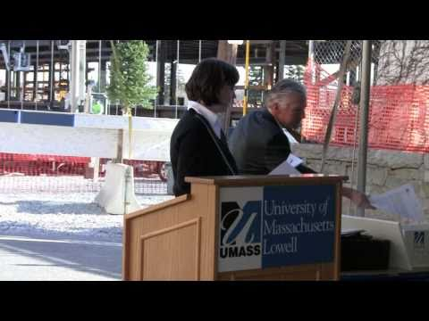 New UMass Lowell ETIC - Smith Hall Time Capsule Ceremony 3/30/11