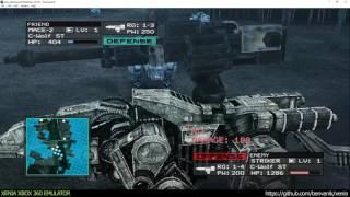 Xenia Xbox 360 Emulator - Zoids Assault ingame! (20458de/Sep 9 2016) VULKAN