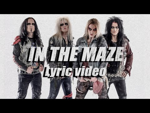 "CRASHDÏET - ""In The Maze"" (Official Lyric Video) #Crashdïet #InTheMaze"