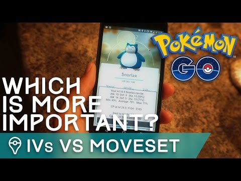 IVs VS MOVESETS: WHAT'S MORE IMPORTANT IN POKÉMON GO?