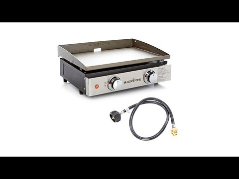 "Blackstone Portable Outdoor 22"" Table Top Gas Griddle w/..."