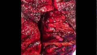Steak Oscar: Filet Mignon, Dungeness Crab, Asparagus & Bearnaise Sauce! Courtesy Of Cafe 1853
