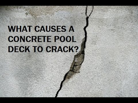 What Makes A Pool Deck Crack?