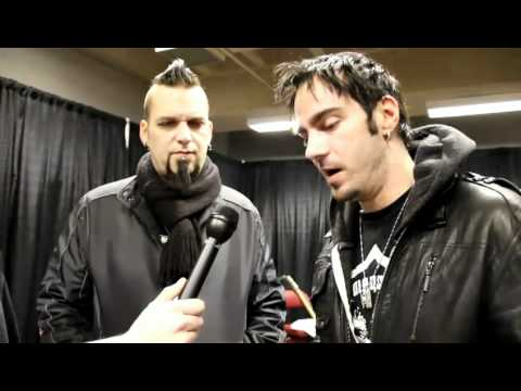 Three Days Grace Interview  Barry & Adam  ((www.ThreeDaysGrace.com.ar))