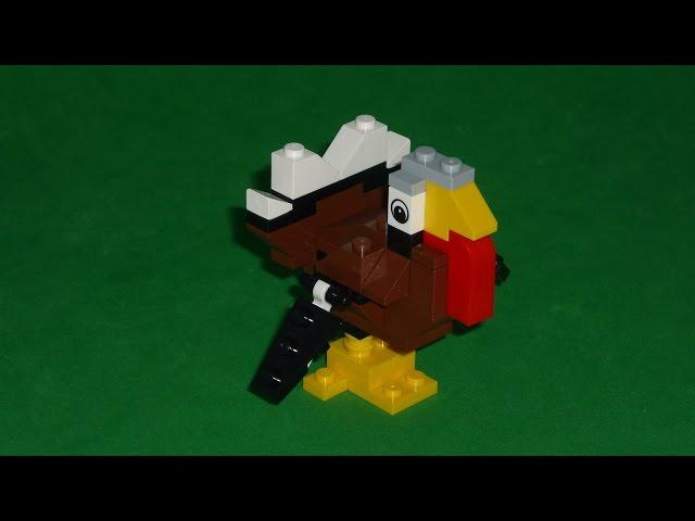 LEGO TURKEY 40033 THANKSGIVING DAY [HD] - LEGO PAVO 40033 DIA DE ACCION DE GRACIAS [HD]