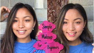 Simple Makeup For Beginners || Nepali | LAXMI SHRESTHA |