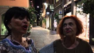 Wanna E Stefania In Via Della Spiga A Milano