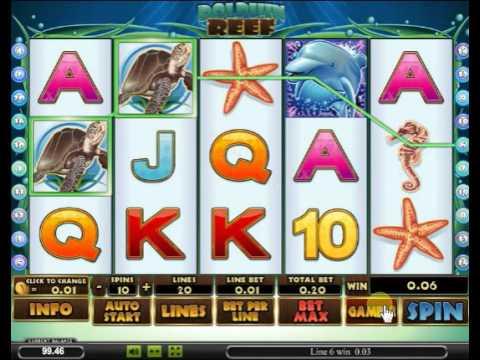 Игровой автомат Dolphins Reef
