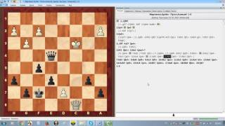 Шахматы. Интересное ферзевое окончание