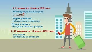 видео Порядок выборов и вступления в должность Президента РФ
