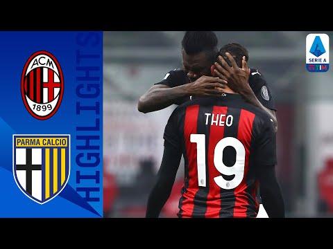 Milan 2-2 Parma | Il Milan pareggia a San Siro in rimonta | Serie A TIM