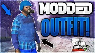 GTA 5 ONLINE - CREATE A MODDED OUTFIT USING BLUE JOGGERS *PATCH 1.40* (GTA 5 MODDED OUTFITS)