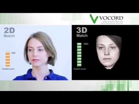 3D facial recognition system VOCORD FaceControl 3D