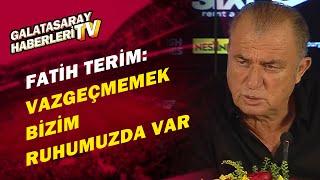 Fatih Terimİki Maçta Daha Çok Gol Atmak İsteyen Bir G.Saray İzleyeceğiz / Galatasaray 3-1 Beşiktaş