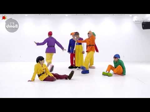 BTS - Gogo I Dance practice mirrored
