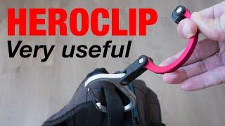 Heroclip - Versatile Rotating Carabiner Hook Clip (review)