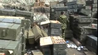 Луганск.Счастье.Ополченцы Новоросии захватили большой склад боеприпасов .