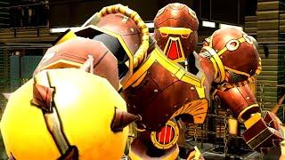 REAL STEEL WRB Crimson Carnage VS Hollowjack & Six Shooter & Danger Zone & Aquabot