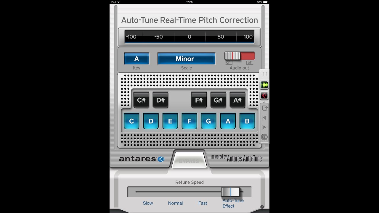 AutoTune EFX for iPad Powered by Antares   Demo and Tutorial