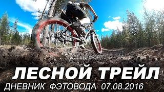 Fatbike days 7/8/16: Forest Trail