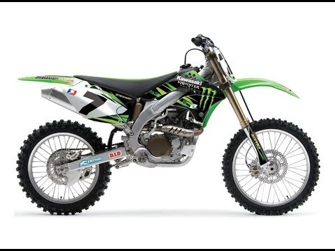 Kawasaki Klx125 1 Lap Track Design Of 2018 Youtube