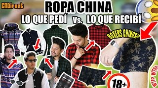 ROPA CHINA: LO QUE PEDÍ Vs LO QUE RECIBÍ + OUTFITS | CNDIRECT