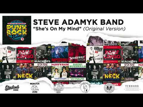 "Steve Adamyk Band ""She's On My Mind (Original Version)"" - Punk Rock Raduno Vol. 3 Mp3"