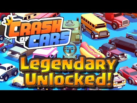 Legendary Car UNLOCKED! -- Crash Of Cars -- Mobile Mondays