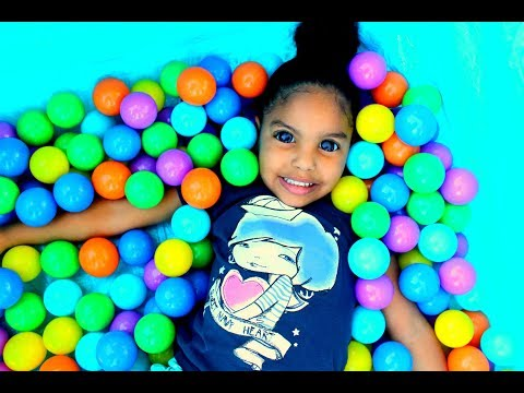 THE BALL PIT SHOW FOR LEARNING COLORS!!! CHILDREN EDUCATIONAL VIDEOS!