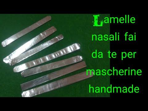 #iorestoacasa #conme #Fai da te #Naselli per mascherine handmade DIY #lamelle nasali