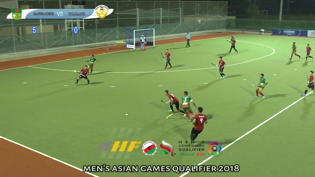 Men's Asian Games Qualifier 2018 Thailand Vs Bangladesh