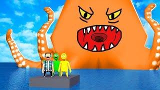 O POLVO GIGANTE *assustador*  !! - HAVOCADO