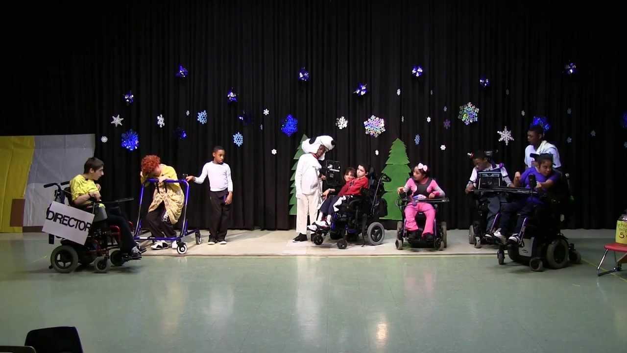 A Charlie Brown Christmas Play - 1st Cerebral Palsy of NJ - YouTube