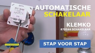 Schakelaar door een automatische lichtschakelaar vervangen