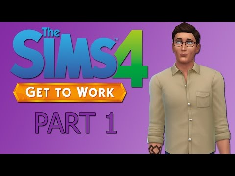 The Sims 4 Get to Work Let's Play: Meet Dante