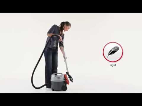 nilfisk aspirateur professionnel vp300 youtube. Black Bedroom Furniture Sets. Home Design Ideas
