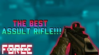 THE BEST ASSAULT RIFLE IN BULLET FORCE!?!?