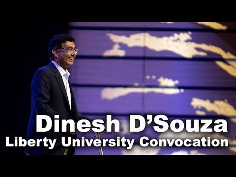Dinesh D'souza - Liberty University Convocation