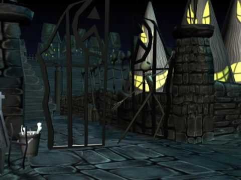 Nightmare Before Xmas (CG test pitched to Disney Interactive)