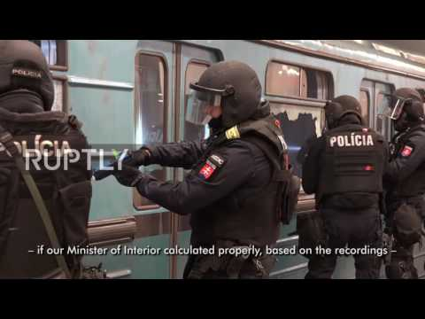 Hungary: Orban observes dramatic counter-terrorism exercise in Budapest
