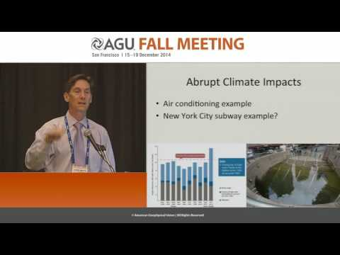 ABRUPT CLIMATE CHANGE: THE VIEW FROM THE PAST, THE PRESENT AND THE FUTURE