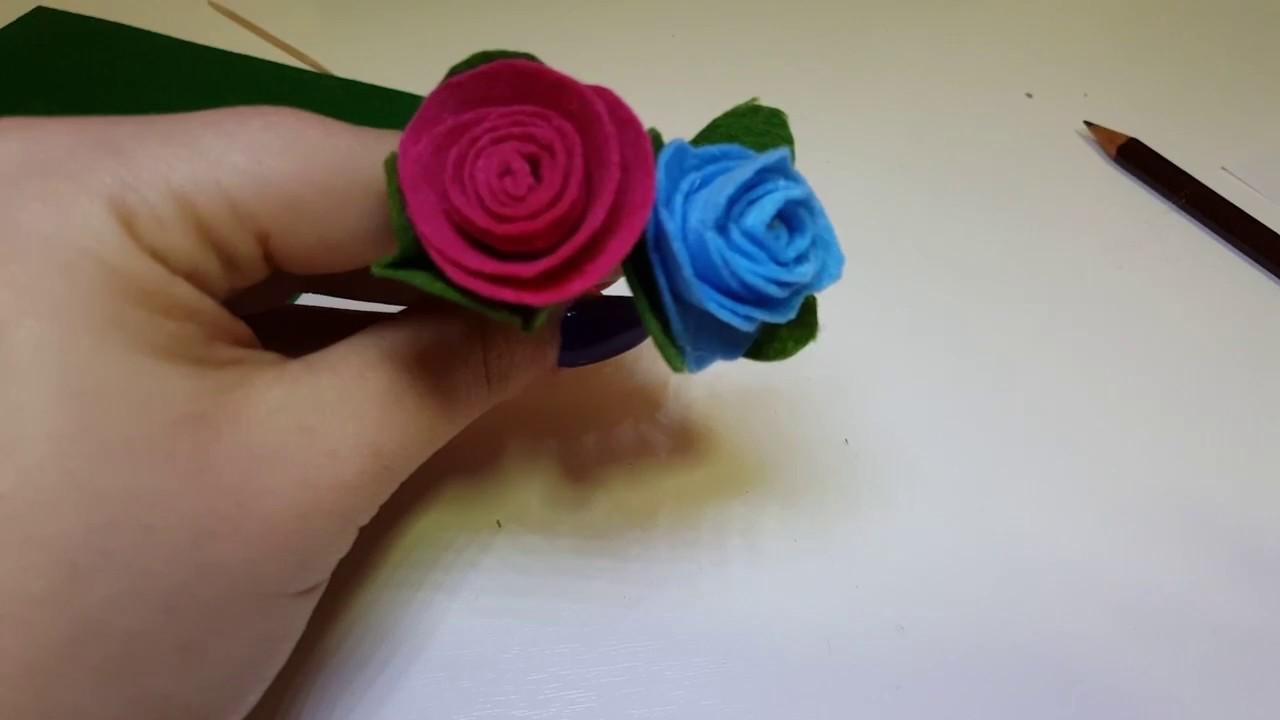 Rose Fai Da Te diy fiori fai da te - diy handmade flower