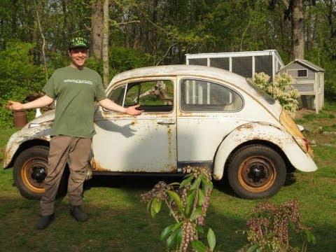 """1965 VW Beetle """"MISTY"""" Yard test drive"""