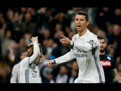 Real Madrid - Napoli 3-1 Goals and Highlights 15/02/2017
