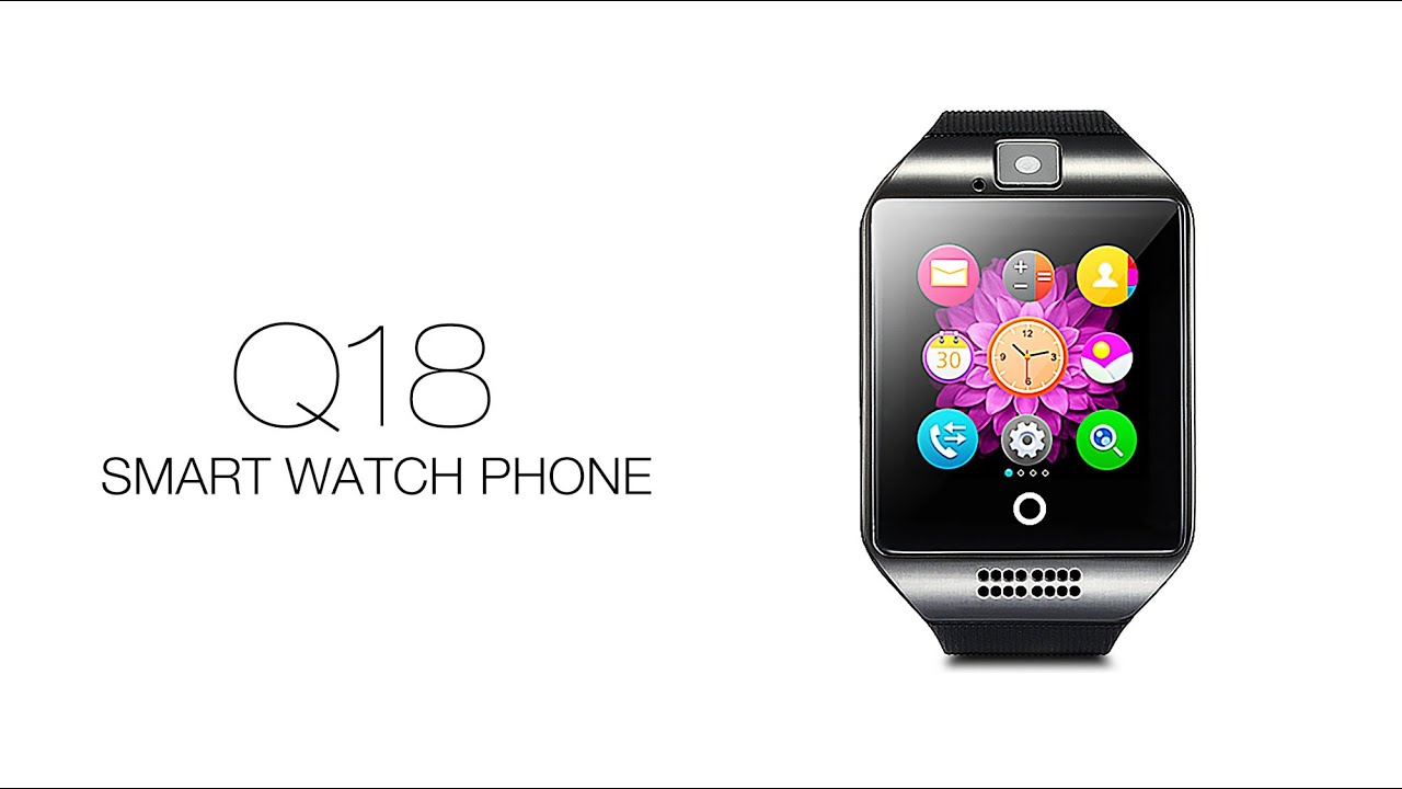 $10.52 $18.45 - Q18(Apro) Smart Watch Phone Curve Screen 1.3MP ... on