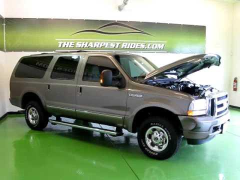 2004 Ford Excursion Limited 6.0L V8 Turbo Diesel ...