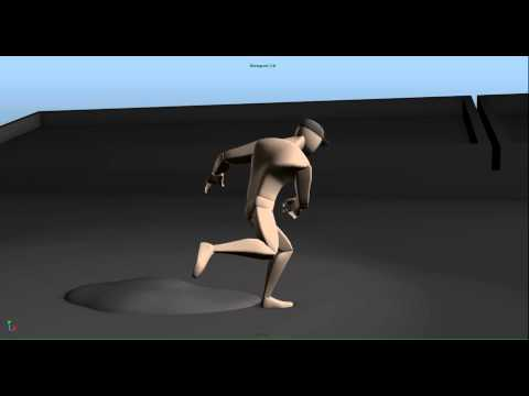 baseball pitch animation blocking WIP 2